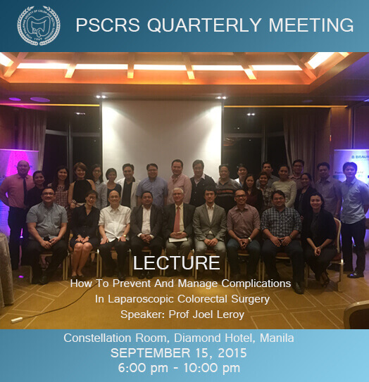 PSCRS QUARTERLY MEETING