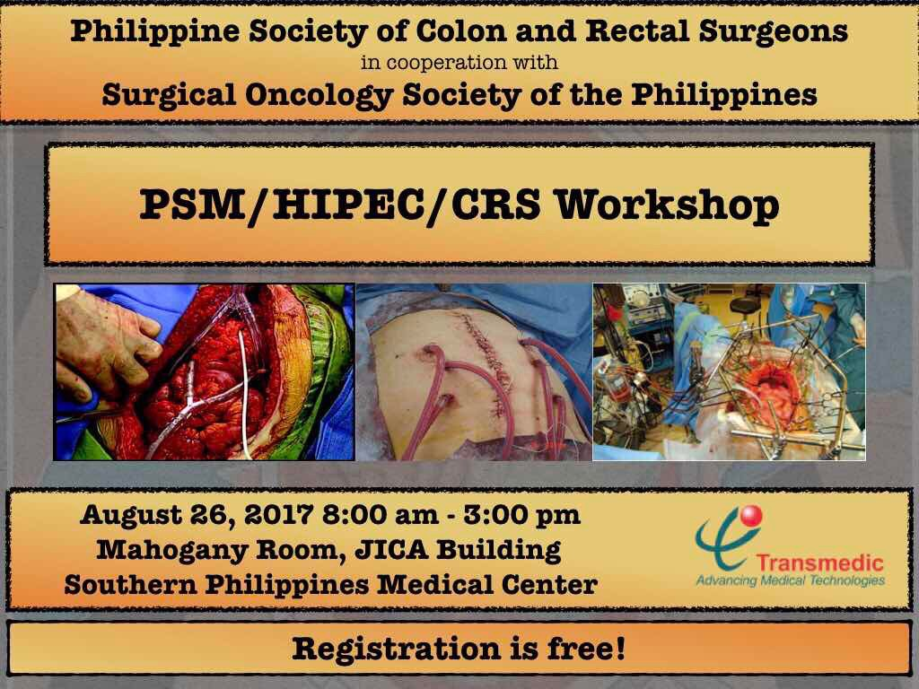 1st PSCRS and SOSP PSM/ CRS/ HIPEC Workshop